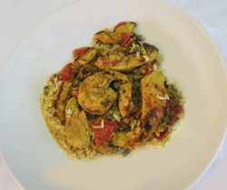 Belizean Chicken in Grace Coconut Sauce