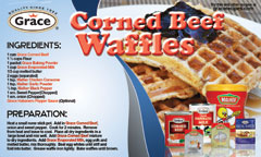 Corned Beef Waffles