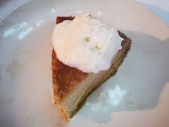 Flan with Grace Coconut Whipped Topping