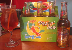 Ginger Shandy Cocktail