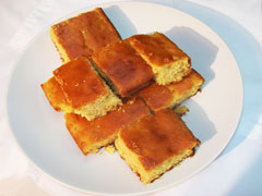 Grace Coconut Corn Bread