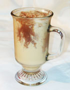Grace Colombian Coffee Shake with Chocolate Topping