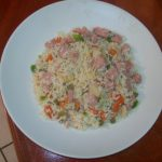 Grace Luncheon Meat Vegetable Rice