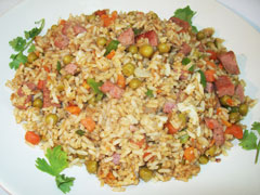 Grace Pork & Chicken Luncheon Meat Coconut Fried Rice