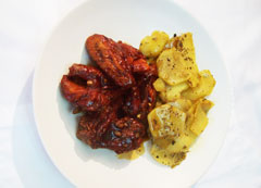 Grace Spicy Guava Chicken Wings