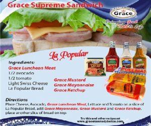 Grace Supreme Sandwich