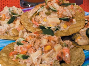 Grace Tuna Tostadas