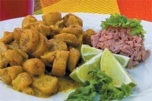 Green Banana Curry And Tuna