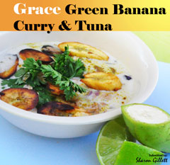 Bananos Verdes Con Curry y Atún Grace