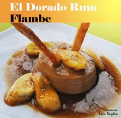 Flambe De Ron El Dorado