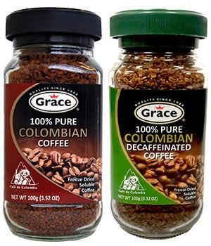 Grace 100% Colombian Coffee