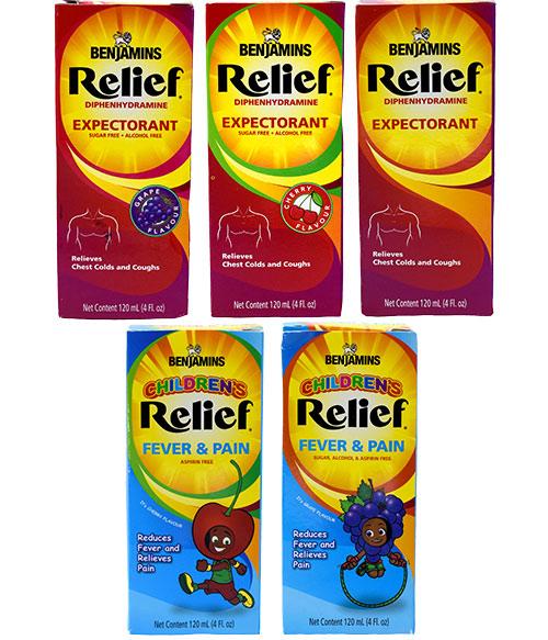 Benjamins Relief Medicine