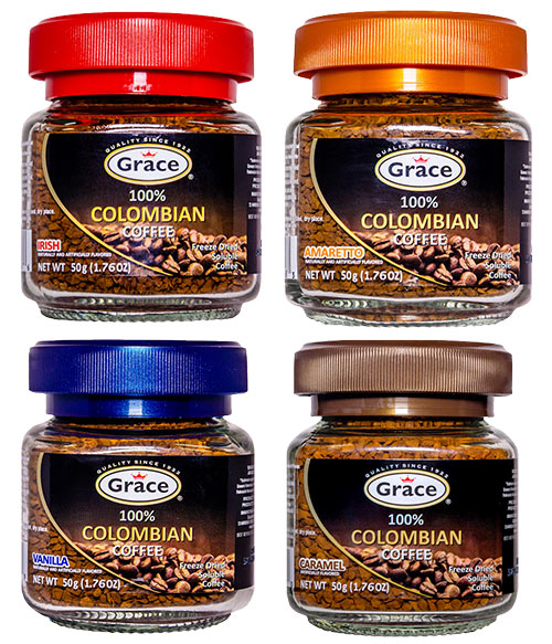 Grace Colombian Coffee Flavors