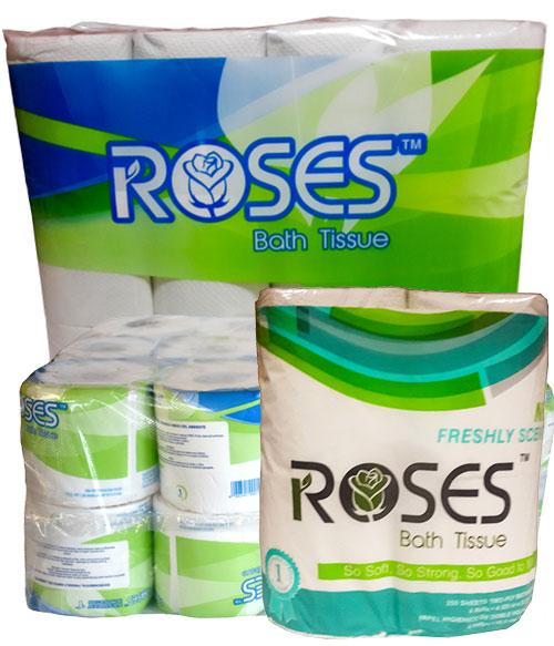 Roses Toilet Paper