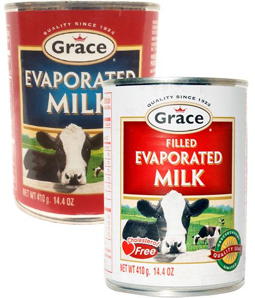 Grace Evaporated Milk