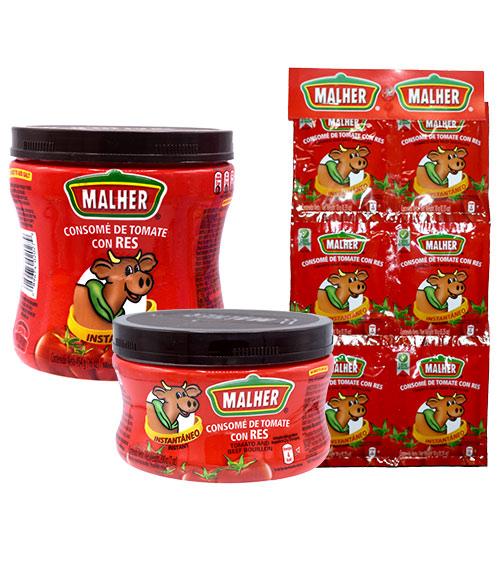 Mahler Tomato and Beef Flavor Bouillon