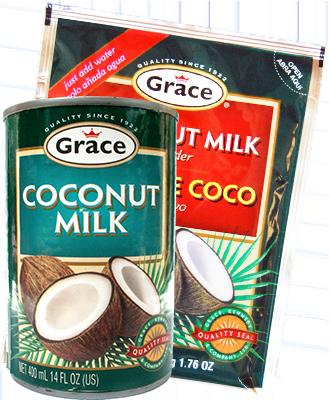 Belize Coconut milk